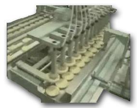 Macchine per gallette di riso ricoperte